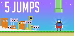 5 прыжков
